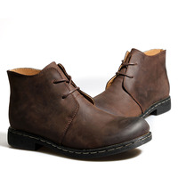 New Arrival Men Winter Martin Boots Round Toe Lace Up Men's Waterproof Boots Casual England Style Shoes 149