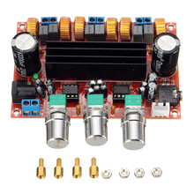 New Arrival TPA3116D2 50Wx2+100W 2.1 Channel Digital Subwoofer Amplifier Board 12V-24V Power(China (Mainland))