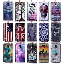 Note 4 Phone Case Ultra thin 3D Relief Embossing Custom Design Pictures Plastic Case For Samsung Galaxy Note 4 IV Battery Cover
