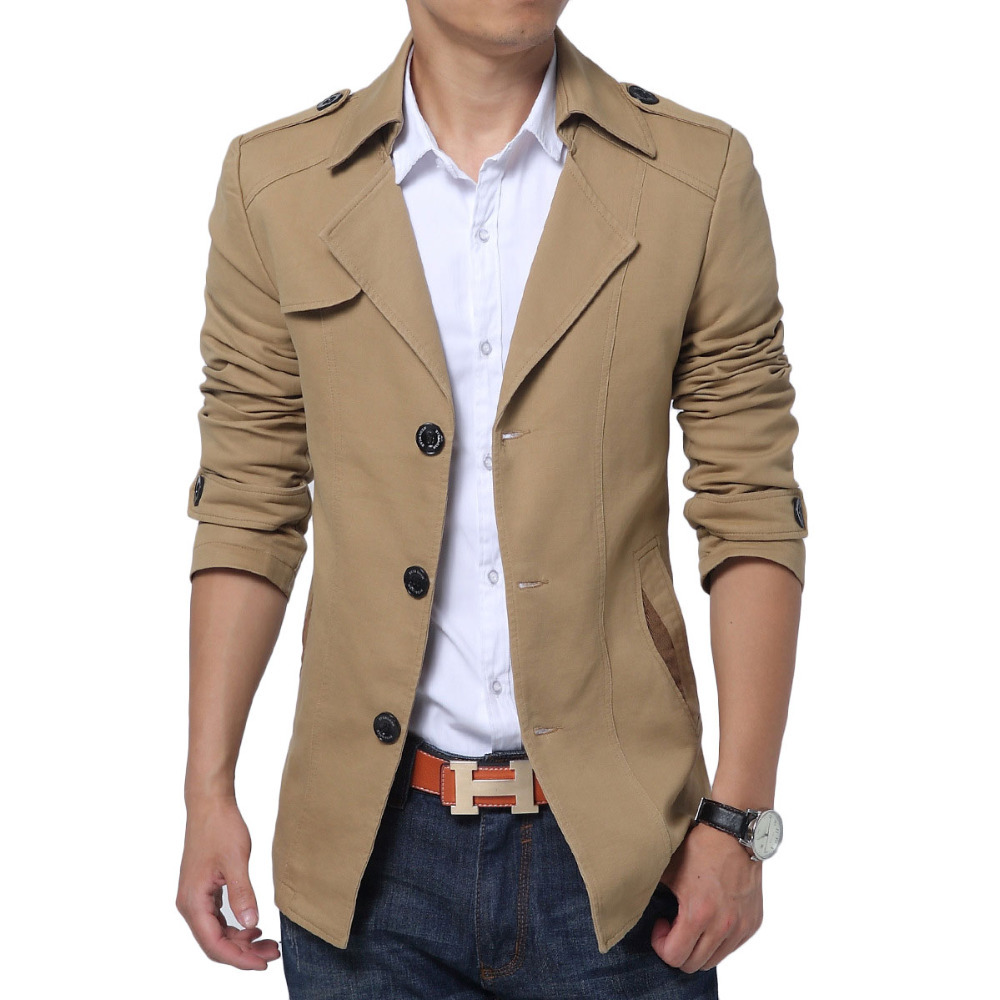 High Quality Mens Short Trench Coats Promotion-Shop for High ...
