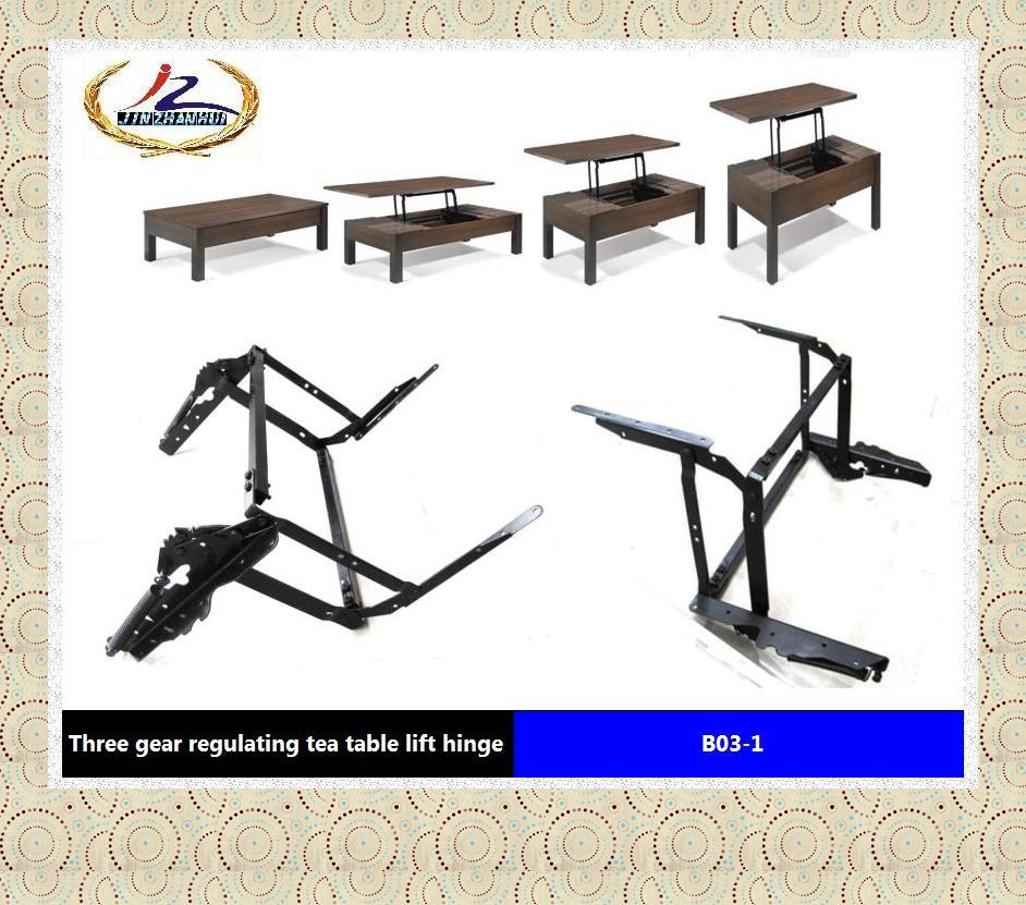 table parts with pop-up function ,laptop table parts ,convertible coffee table mechanism B03-1(China (Mainland))