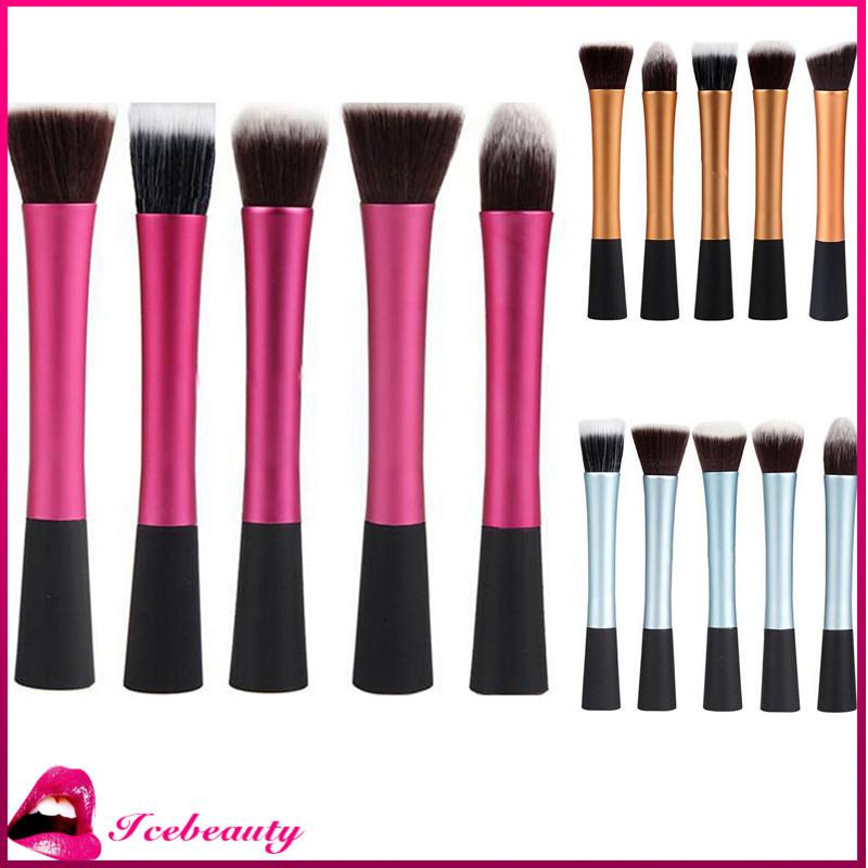 5 pcs/set High Quality Synthetic Makeup Brushes Kit Make Up Brush Set Cosmetic Tools Q1157(China (Mainland))