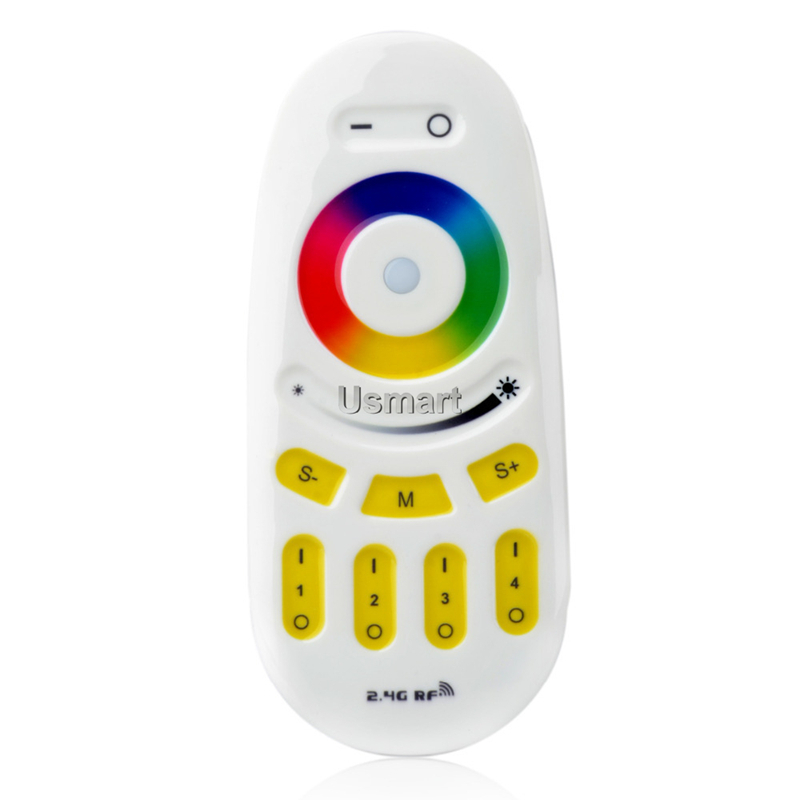 New 2015 2.4G 4-Zone LED Wireless RF RGBW Touch Remote Controller Dimmable Milight Series For RGBW RGBWW Lights Strip and Bulb(China (Mainland))