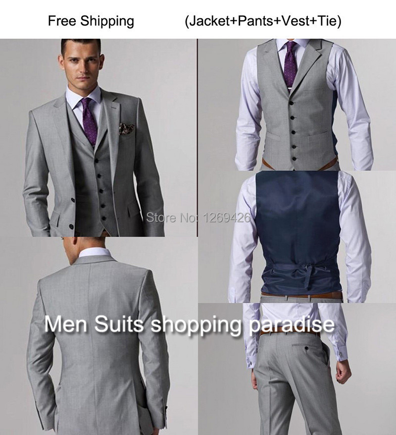 Fashion Men\'s Suit Luxury Brand Wedding Suits For Men Casual Suits ...
