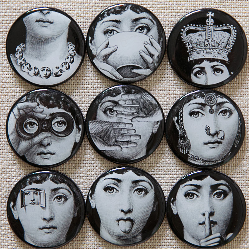 2016Souvenir Fridge Magnet Fornasetti Magnet Aimant Imanes De Nevera Home Decor Imanes Magformers Juguetes Fornasetti Magnet(China (Mainland))