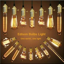 Loft American Vintage Pendant Lights Antique Copper/Brass E26/E27 Single Pendant Lamps With Braided Wire AC110/220V Edison Bulbs(China (Mainland))