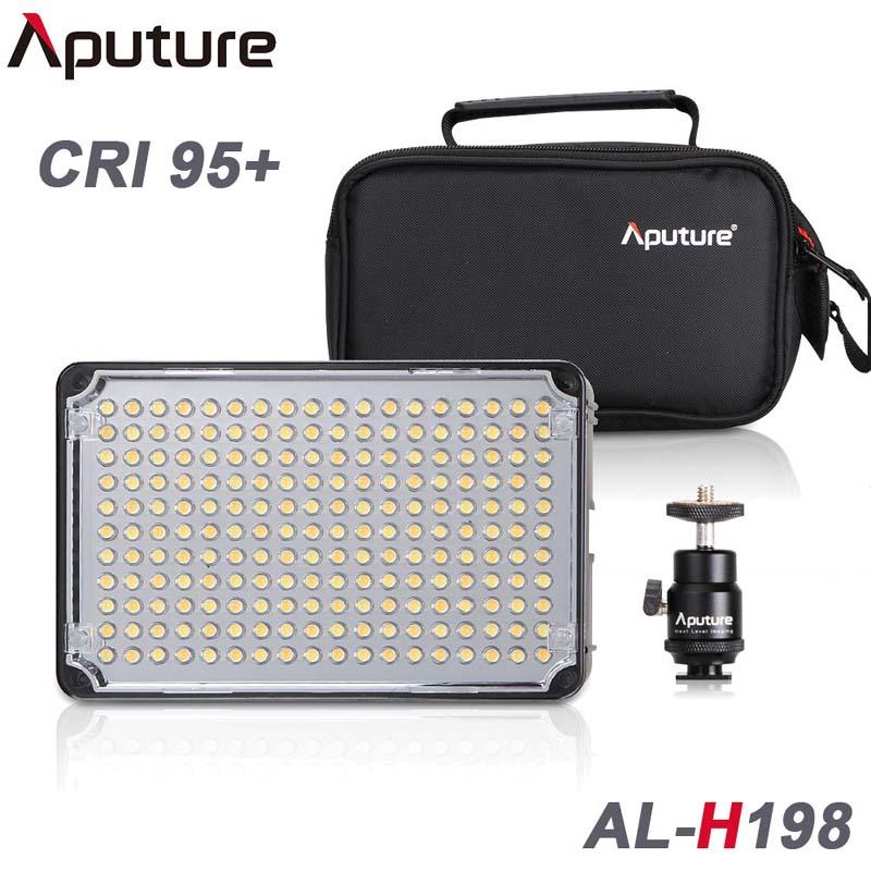 Фотография Aputure Amaran AL-H198 CRI 95+ On Camera Led Video Light for Canon Nikon Sony Panasonic Camcorders