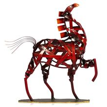 Tooarts enfeites para casa Metal Sculpture Metal Weaving House Furnishing Articles Handicrafts Escultura Home Art Decoration(China (Mainland))