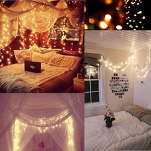 2M Waterproof Battery Operated 20 LED holiday String lights Christmas Festival Party Fairy Colorful Xmas Lights - ZHONGLIXING lighting5 store