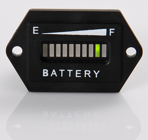 Free Shipping!LED State Battery Charge Indicator 12V&24V,24V,36V,48V,72V(China (Mainland))