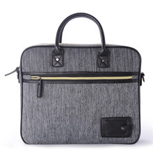 Desinger Grey Men Briefcases Man Business Messenger Bags Canvas Briefcase Notebook 17laptop Bag Maletas Valigetta Uomo Bolsas De(China (Mainland))