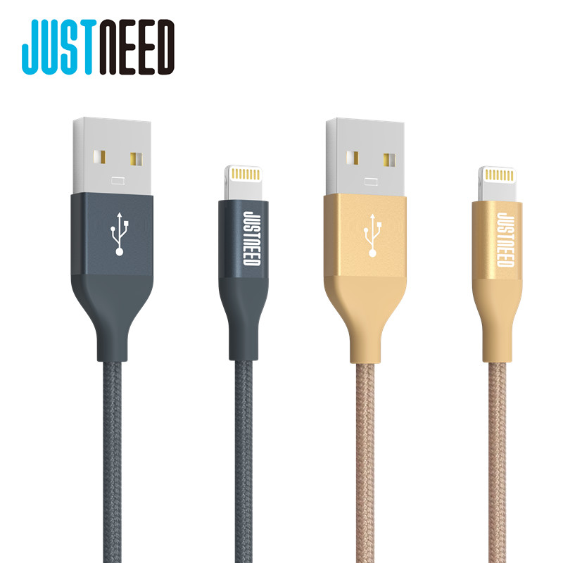 Original MFi Certified Metal Plug Nylon Braided Wire 8 Pin Mobile Phone Cable Usb Data Sync Charger for iPhone 5 6 s iPad iOS 9(China (Mainland))