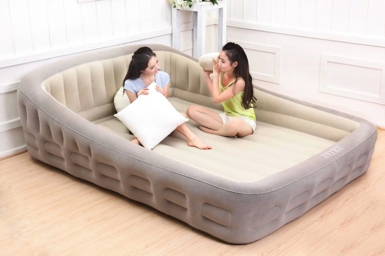 airbed indoor inflatable beds king pump plush bed air comfort mattress lounging furniture living room bed inflatable bed(China (Mainland))