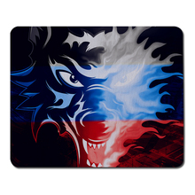 Buy Wolf head logo Gaming Mouse Pad Ratchet Mouse Speed / Control Version gaming mouse pad optical mouse mat Lol CS DOTA 2 for $2.05 in AliExpress store