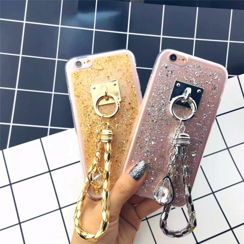 Universal Women Fashion Phone Case Decoration Pendants Chain Rhinestone Bling for mobile phone(China (Mainland))