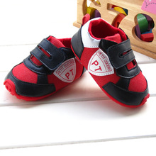 New 2015 spring Autumn baby boy's prewalker cool Sport shoes Velcro outdoor toddler shoes baby shallow bebe shoes for age 0-1(China (Mainland))