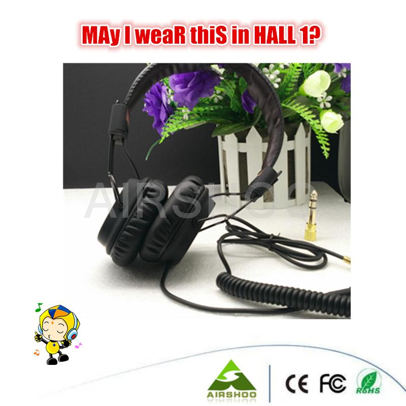 1PC MS Hall Ma jor PC Computer Sport Headphone With Mic 3.5mm Wired Foldable Headset With Package HIFI Gaming 2016