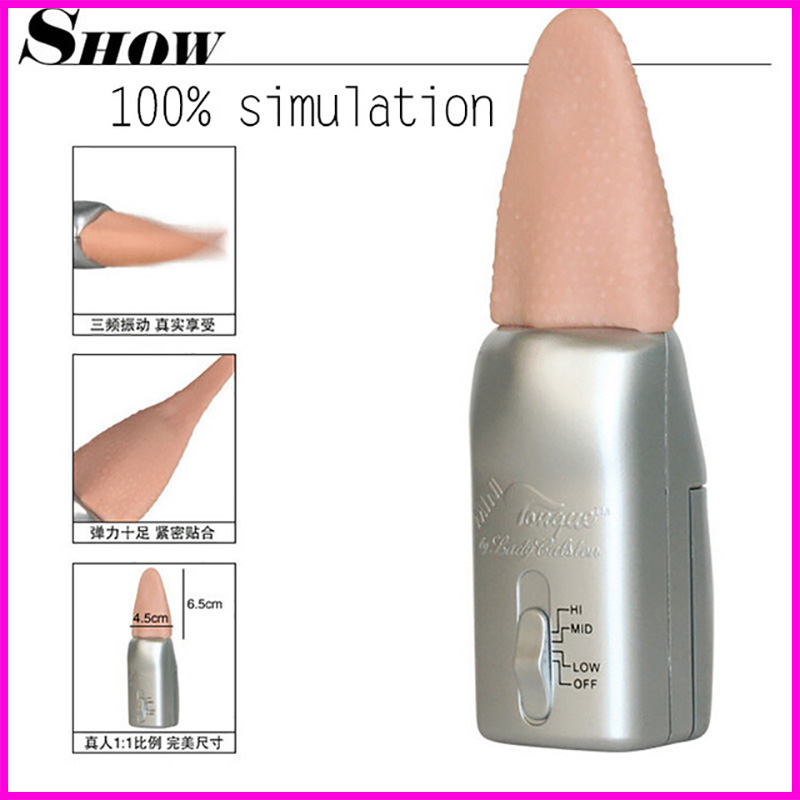waterproof silicone tongue vibrator Female masturbation Oral sex Massage the clitoris 3 speeds sex toys for woman sex products(China (Mainland))