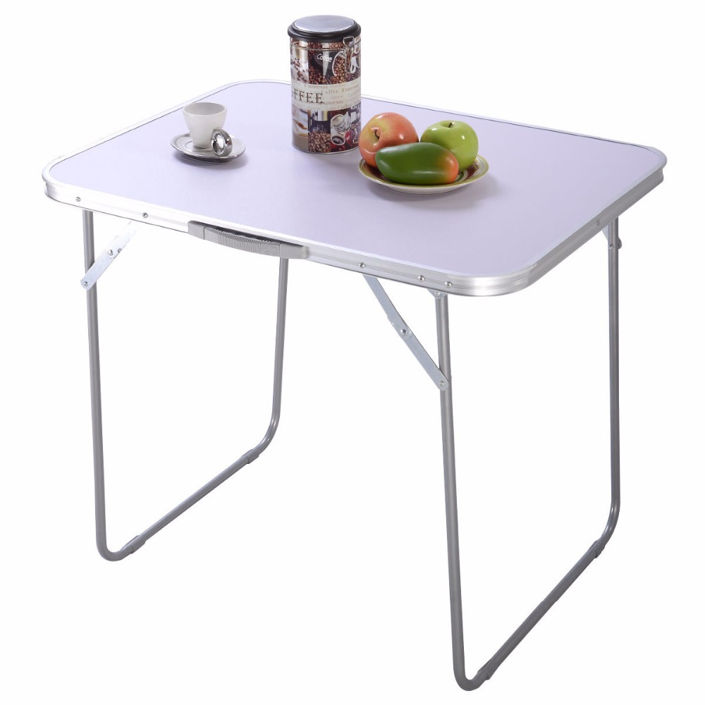 Portable Folding Table In Outdoor Picnic Party Dining