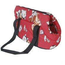 ASDS Carrier soft travel bag Shoulder Handbag for dog / cat Size Small – Red