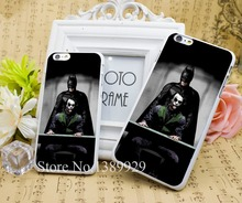 Batman watch Joker Phone Cases Series Case Cover for iPhone 6 6s 6 plus 4s 5s Hard White Plastic Print Back