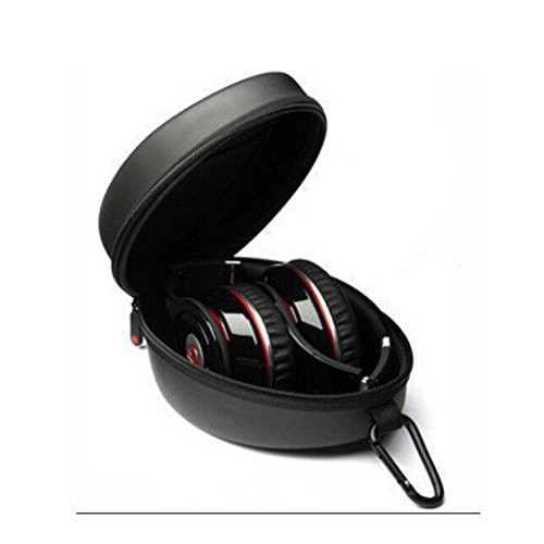 Protection Carrying Hard Case Bag for Monste Dr Dre Beats Solo Studio Headphone black(China (Mainland))