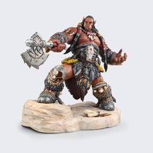 22cm Popular Online Games Garage Kits WOW Durotan Action Figure Big Durotan of The Frostwolf Clan Model