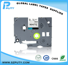 9mm tz laminated tape TZ221 tze221 compatible tz label tape TZ 221 label tapes 3/8″