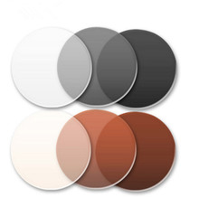 1.56 Index Photochromic Glass Anti Reflective UV Anti Scratch Transition Lenses