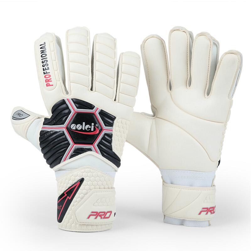 Janus 388 Free shipping Thickened Reusch 's top goalkeeper gloves football lungmoon goalkeeper gloves soccer gloves- LATEX palm(China (Mainland))
