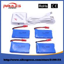 Hot sell 4pcs 3.7V 780mah battery For Wltoys V626 V636 V686 V686G V686J V686K 2.4Gh 4CH 6-Axis UAV FPV RC Quadcopter Drone
