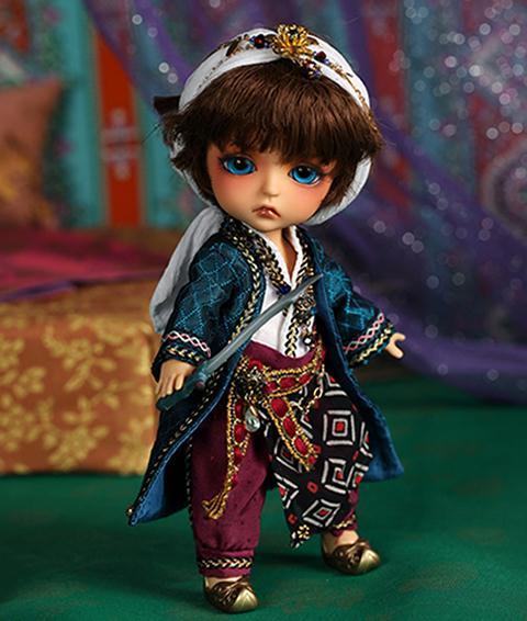 BJD doll SD Aladdin and The Enchanted Lamp ver. Lea BB baby<br>