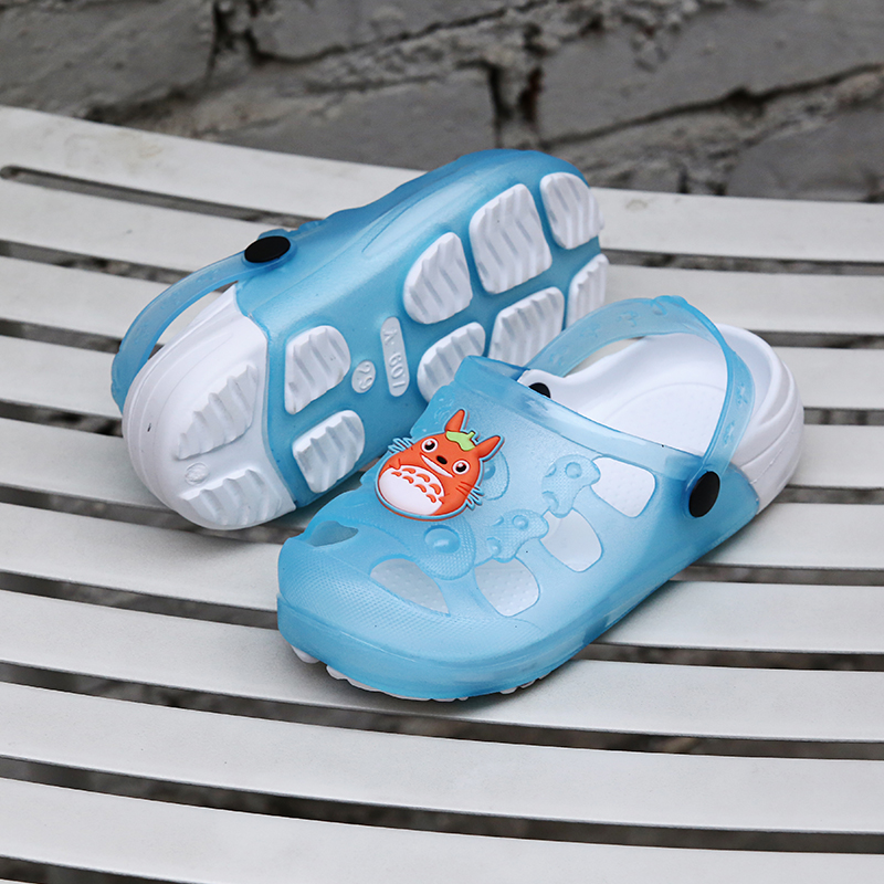 2016 Kids Summer Sandals Slippers GIrl&Boy Children Cartoon Frog Croc Hole Shoes Wear Non-slip Baby Sandals Garden House Shoes(China (Mainland))