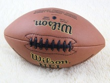 Free shipping Outdoor Sport Rugby Ball American Football Ball PU Size 9 For College Teenagers Training And Match(China (Mainland))