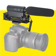 TAKSTAR SGC-598 PRO Shotgun DV Stereo Recording Interviews MIC Microphone for Canon Nikon Any DSLR Camera DV Video Camcorder