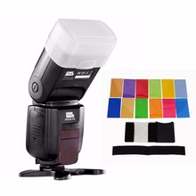Buy Pixel X800N Standard i-TTL Flash High Speed Sync 1/8000S Speedlite Flash Speedlite Nikon DSLR + 12 color filter + diffuser for $92.00 in AliExpress store