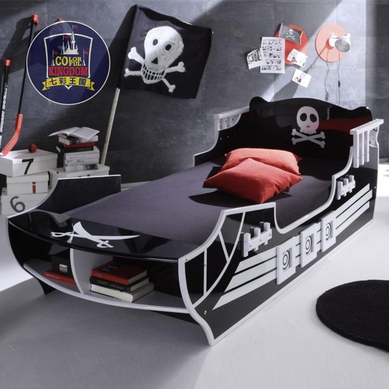 lit bateau pirate promotion achetez des lit bateau pirate promotionnels sur. Black Bedroom Furniture Sets. Home Design Ideas