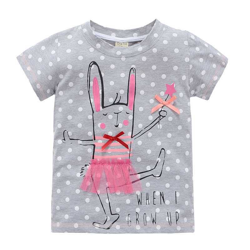 VIDMID 2-10 years baby Girl t-shirt big Girls tees shirts children blouse big sale super quality 100% cotton kids summer clothes(China (Mainland))