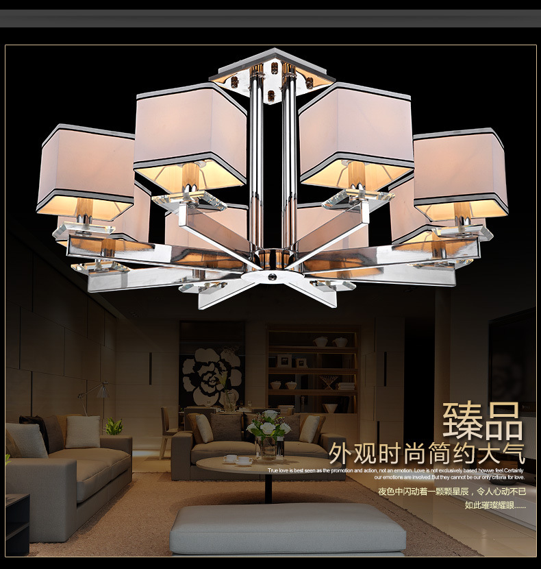 Buy Free Shipping Fashion Contemporary Lighting Chandelier Featured Modern