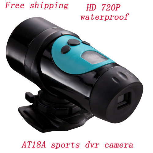free shipping AT18A 1.3MP CMOS Sensor HD 720P Waterproof Sport Digital Video Action Camera Cam Sport Car DVR