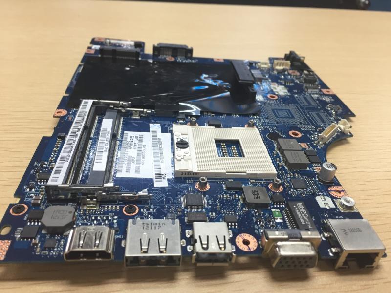 NIWE1 LA 5751P Rev 1 0 Laptop Motherboard for G460 Z460 HM55 integrated DDR3