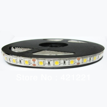 SMD LED Flexible Strips 300LEDS 5M 5050 60leds/m waterproof warm/white/red/yellow/blue/green
