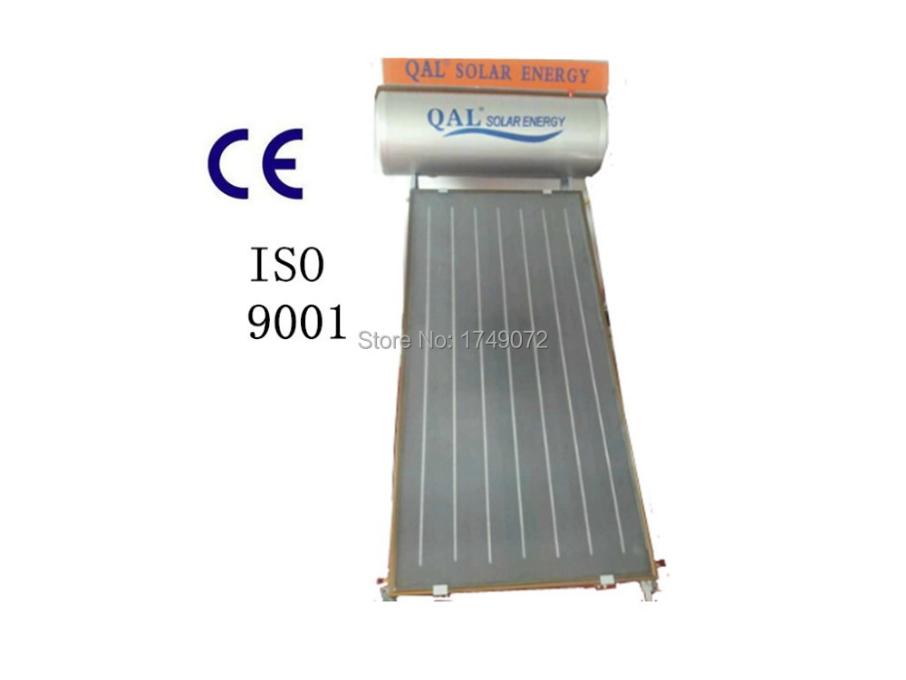 Flat Plate Solar energy, High Efficiency and Quality Flat Panel Solar Water Heater, Blue Titanium solar Collector,200L(China (Mainland))