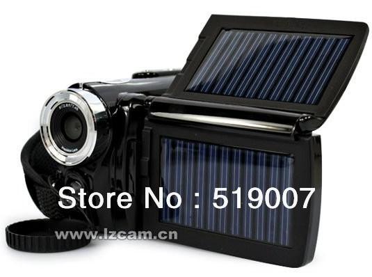 5pcs Digital Video Camcorder DV DV-T90 + 3.0 inch 12.0MP Solar Powered 8X Zoom DV Christmas Gift