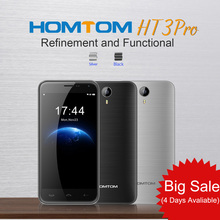 "2016 New HOMTOM HT3 Pro 4G Android5.1 MTK6735P Quad Core Smartphone 2GB+16GB 5MP 13MP 3000mAh 5.0"" 720P HD Mobile Phone Big Sale(China (Mainland))"