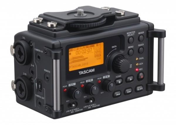 2014 Brand Original Tascam DR-60d professional Linear PCM Recorder Mixer DSLR VIDEO SHOOTER For DSLR SLR Camera DHL EMS shipping(China (Mainland))