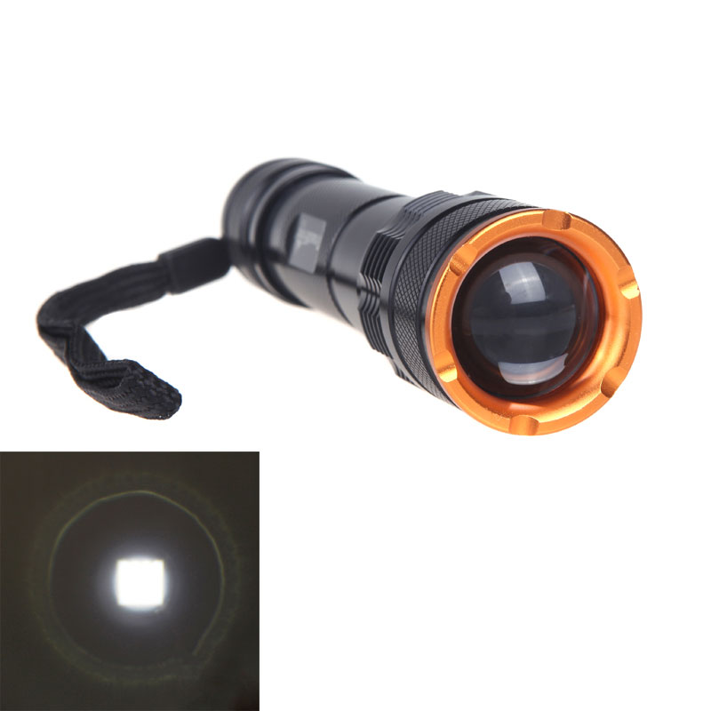 TrustFire LED Flashlight Z3 XM-L T6 LED Flashlight Zoomable Torch Lamp 2000 Lumen 5 Switch Modes(China (Mainland))