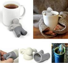 Teapot cute Mr Tea Infuser Tea Strainer Coffee Tea Sets silicone fred mr tea