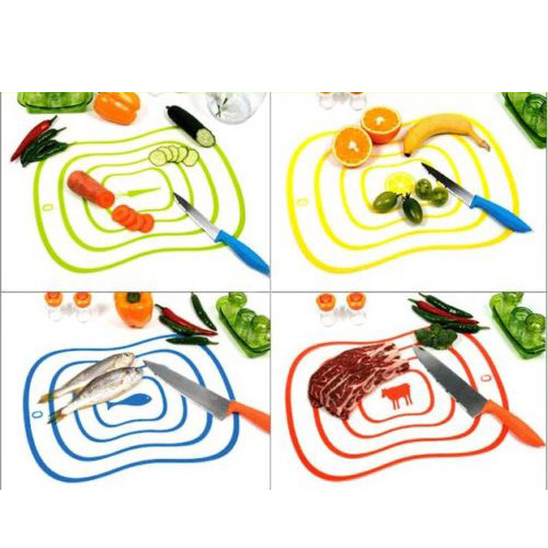 High Quality Plastic Chopping Block Frosted Antibacteria Cutting Board Vegetable Meat Home Living Essential(China (Mainland))