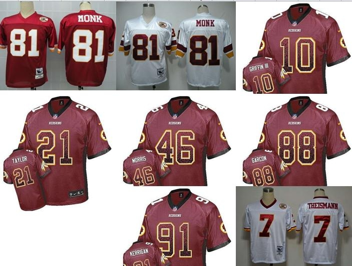 NO-2 New Arrivals Free shipping Best quality Washington Redskins all players 23 style size S-XXXL(China (Mainland))